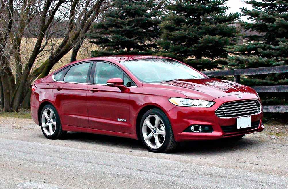Ford Fusion Hybrid – Comprobación de kilometraje de combustible en invierno