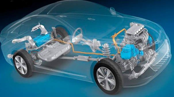 Hyundai Híbrido Sonata | Unidad de verificación de kilometraje de combustible